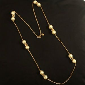 J. Crew Pearl Layer Necklace